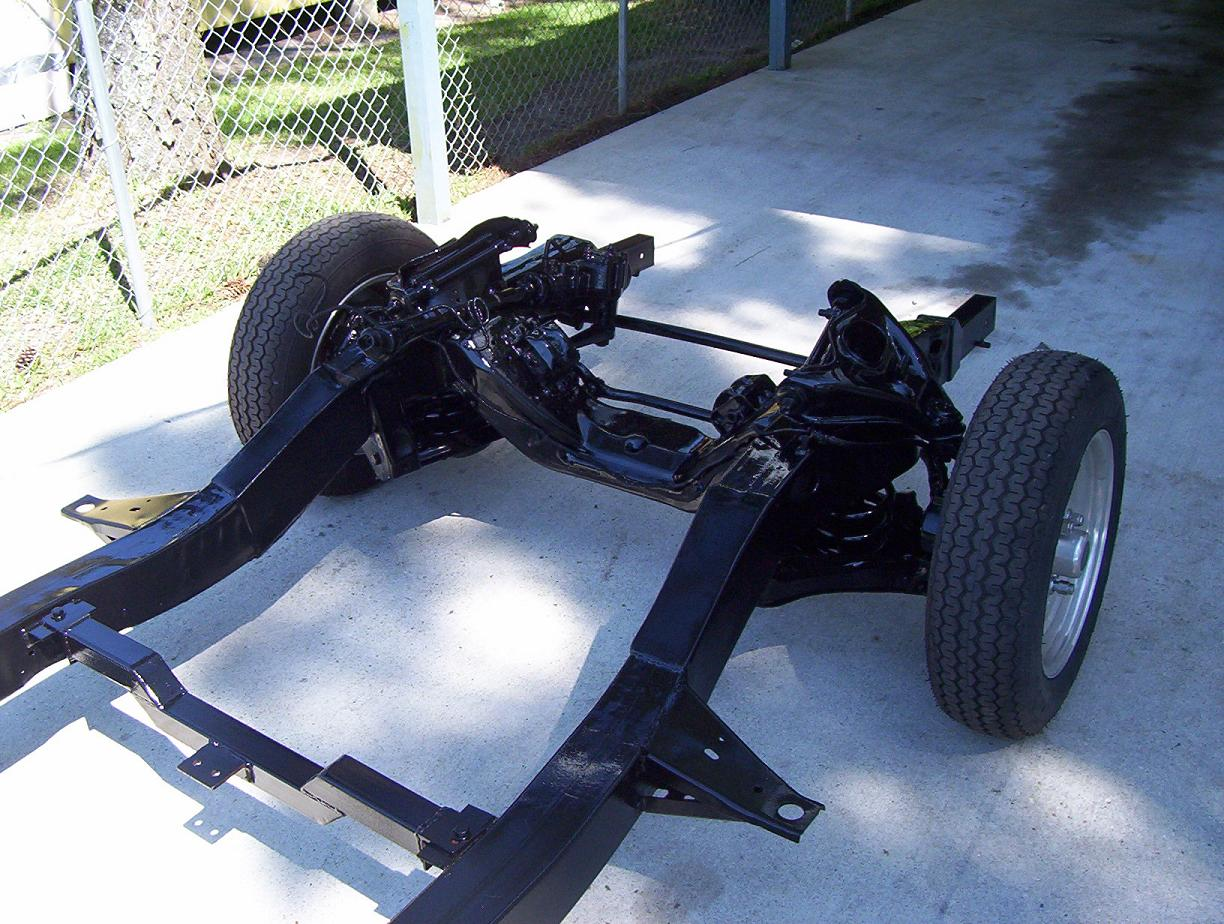 Frame Swap For 1950 Chevy Truck Hot Rod Forum