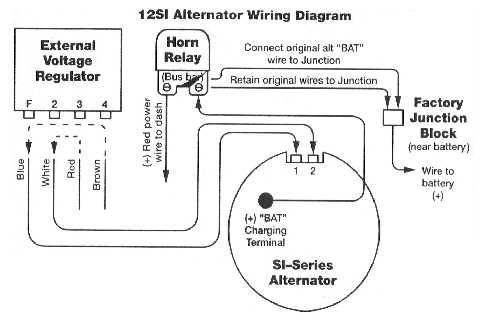 generator light stays on, 1968 cadillac sedan deville - hot rod, Wiring diagram