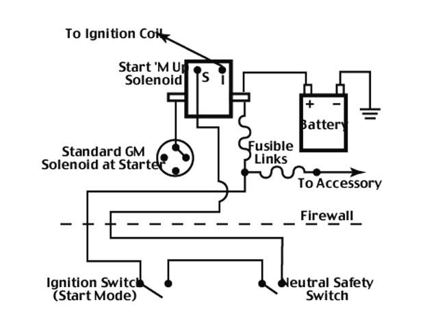 gm mini starter wiring starter mini starter hookup hook what to where   hot rod forum  mini starter hookup hook what to where