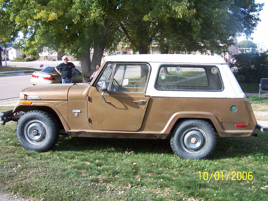 looking for info or history on a 70 Jeep Kaiser Commando - Hot Rod