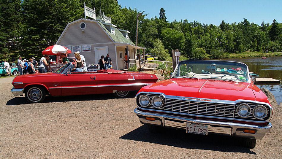 Click image for larger version  Name:1963 & 1964 Chevrolet Impalas=KRM.jpg Views:77 Size:200.0 KB ID:23457
