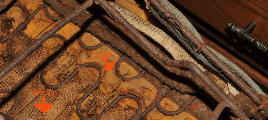 Click image for larger version  Name:1970RearLeatherfoamburlap.jpg Views:144 Size:208.9 KB ID:42948