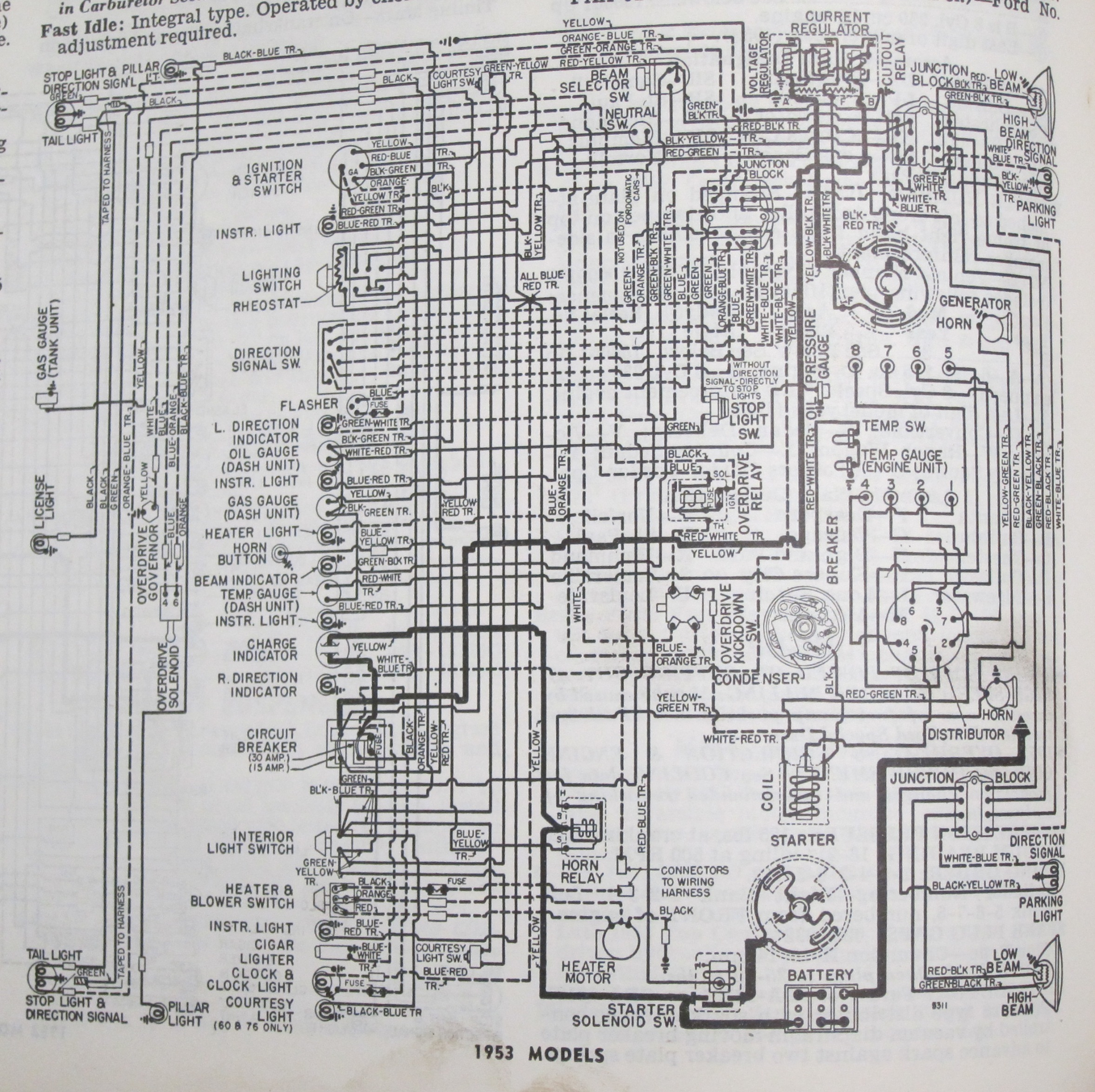 1953 Ford Main Line Wiring Diagram Wiring Diagram Search A Search A Lechicchedimammavale It