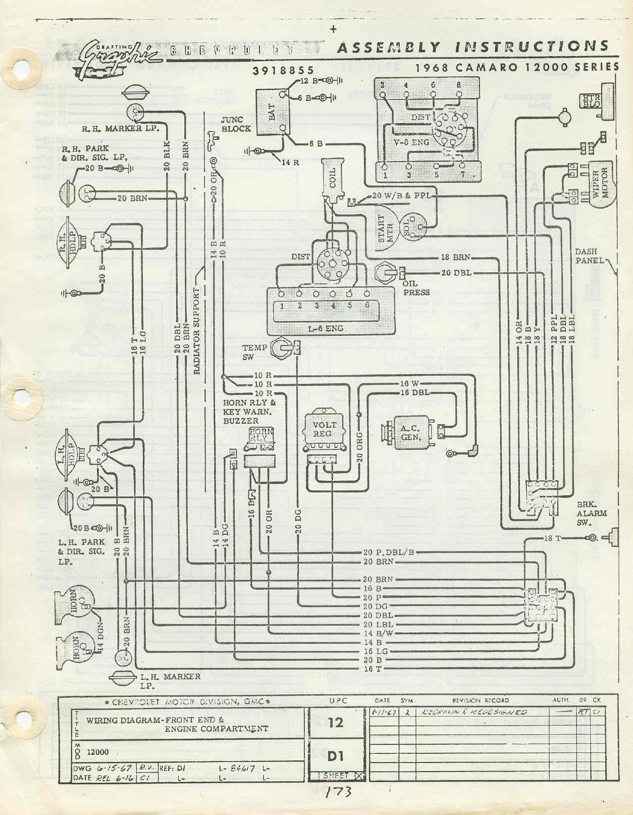 camaro console wiring diagram wiring 68 firebird hot rod forum hotrodders bulletin board click image for larger version 68 1