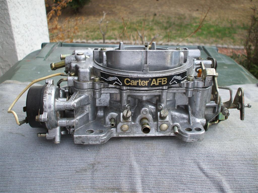 Carter AFB part numbers and carb sizes - Hot Rod Forum