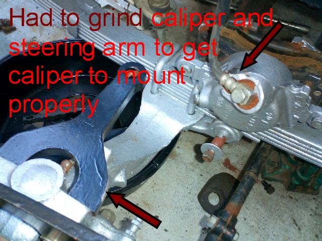 Click image for larger version  Name:Caliper and steering arm grind area.JPG Views:117 Size:114.2 KB ID:5322