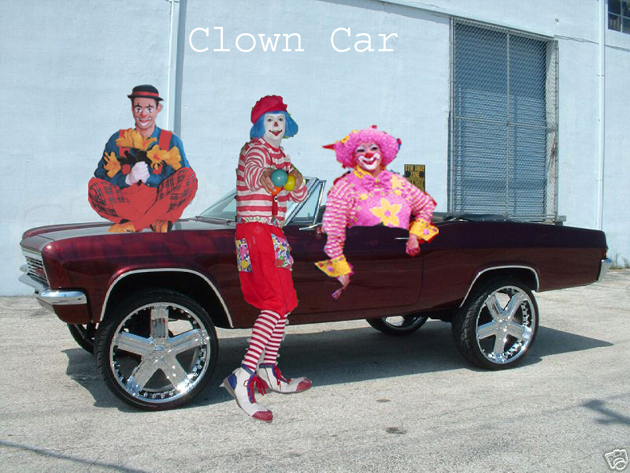 Click image for larger version  Name:Clown CarResized.jpg Views:226 Size:267.3 KB ID:7667