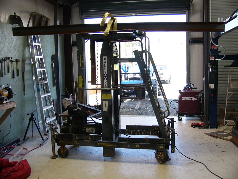 Click image for larger version  Name:Cross Beam Loaded on Lift, Thanks to Tractor.jpg Views:177 Size:163.0 KB ID:44721