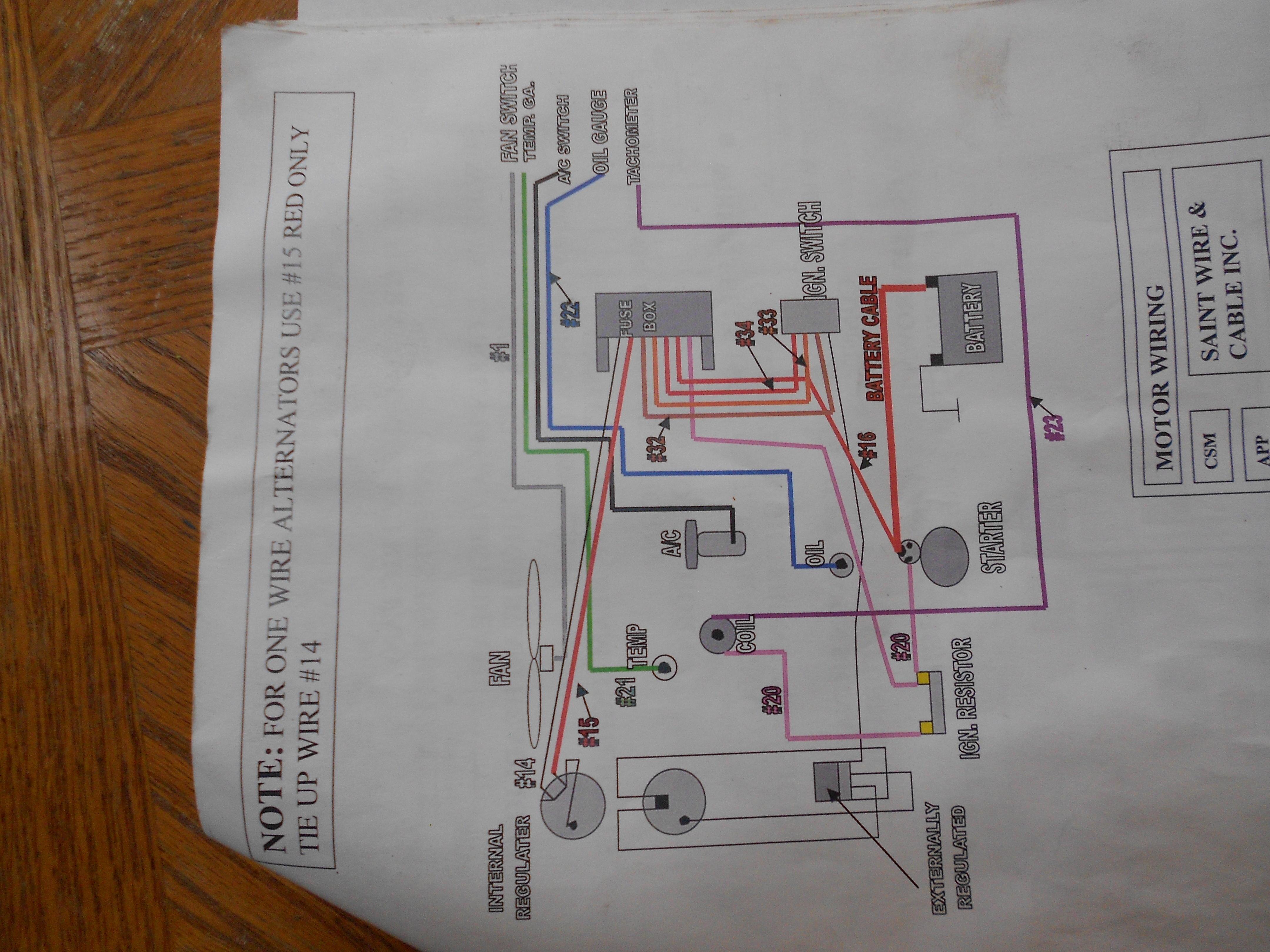 Help with chevy alternator wiring | Hot Rod ForumHotrodders.com