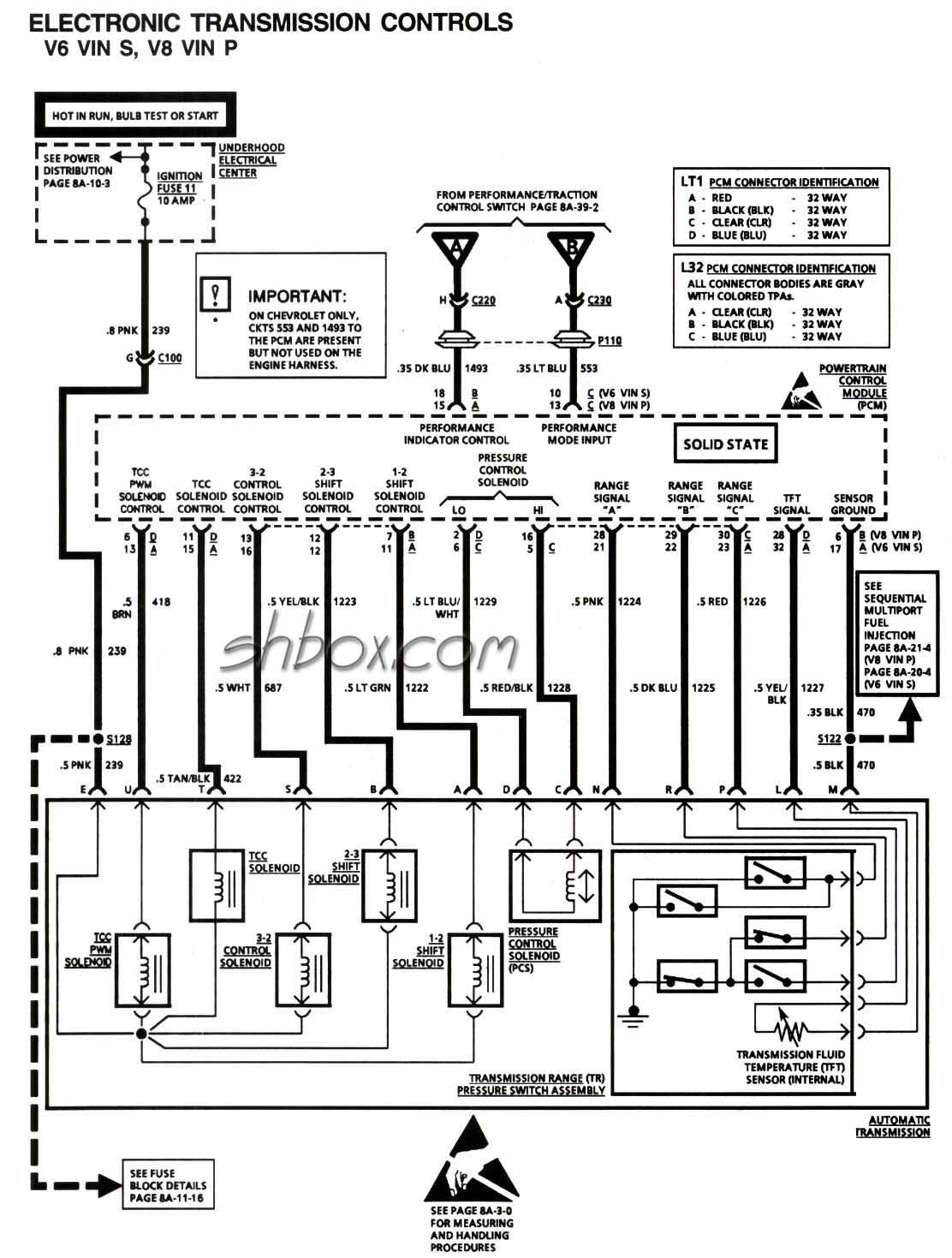 le prndl wiring hot rod forum bulletin board click image for larger version electronic trans controls jpg views 9251 size 158 0