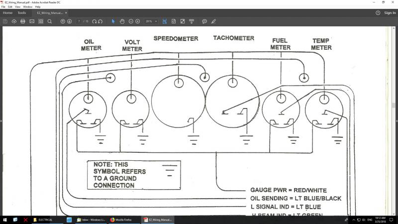 Voltmeter Wiring - Hot Rod Forum : Hotrodders Bulletin Board on