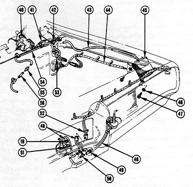 1968 pontiac gto headlight wiring diagram schematic 68 gto wiring diagrams and hide-a-way headlights vacuum ... 1966 pontiac gto instrument wiring diagram