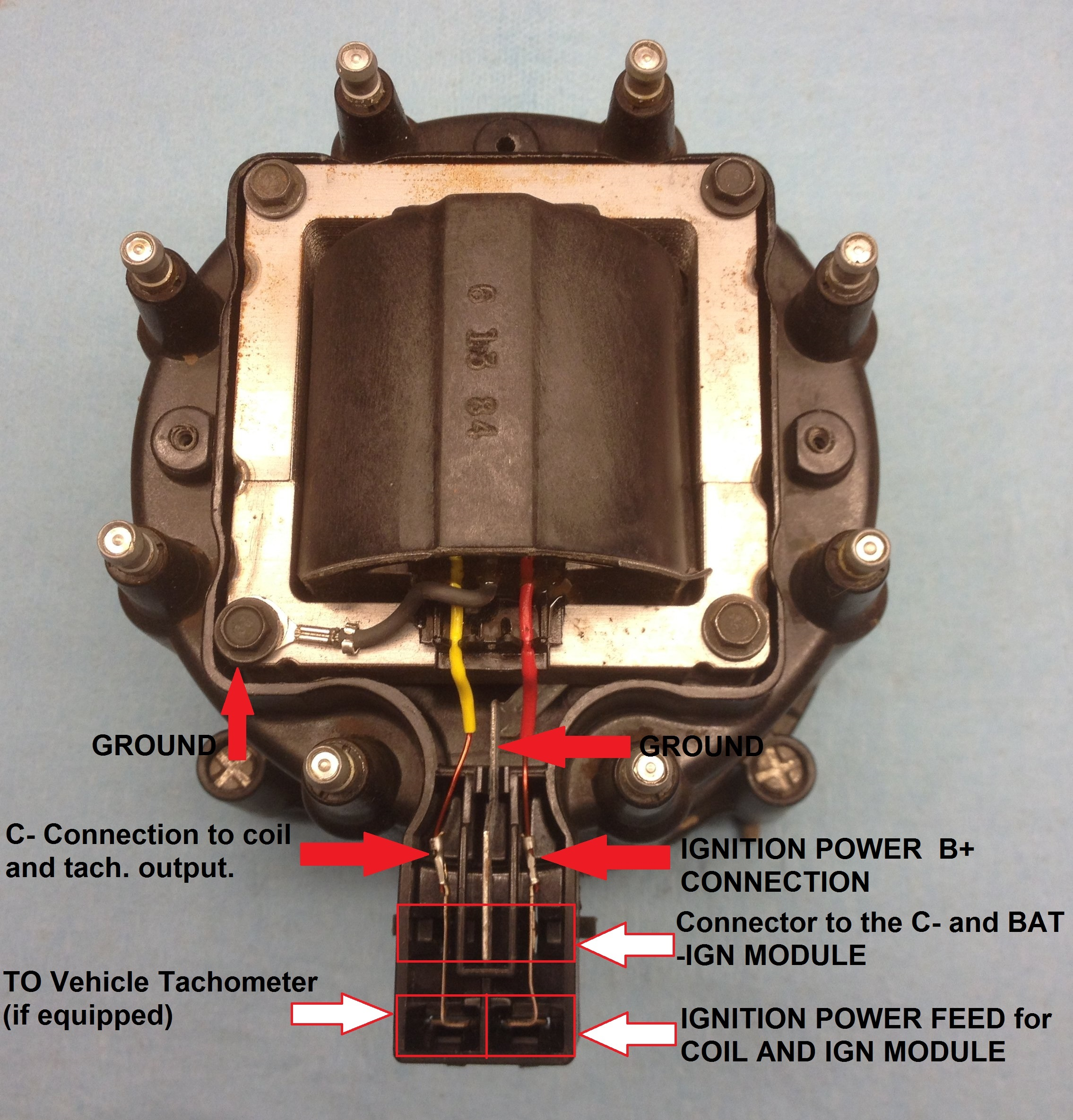Voltage issue after installing new distributor | Hot Rod ForumHotrodders.com