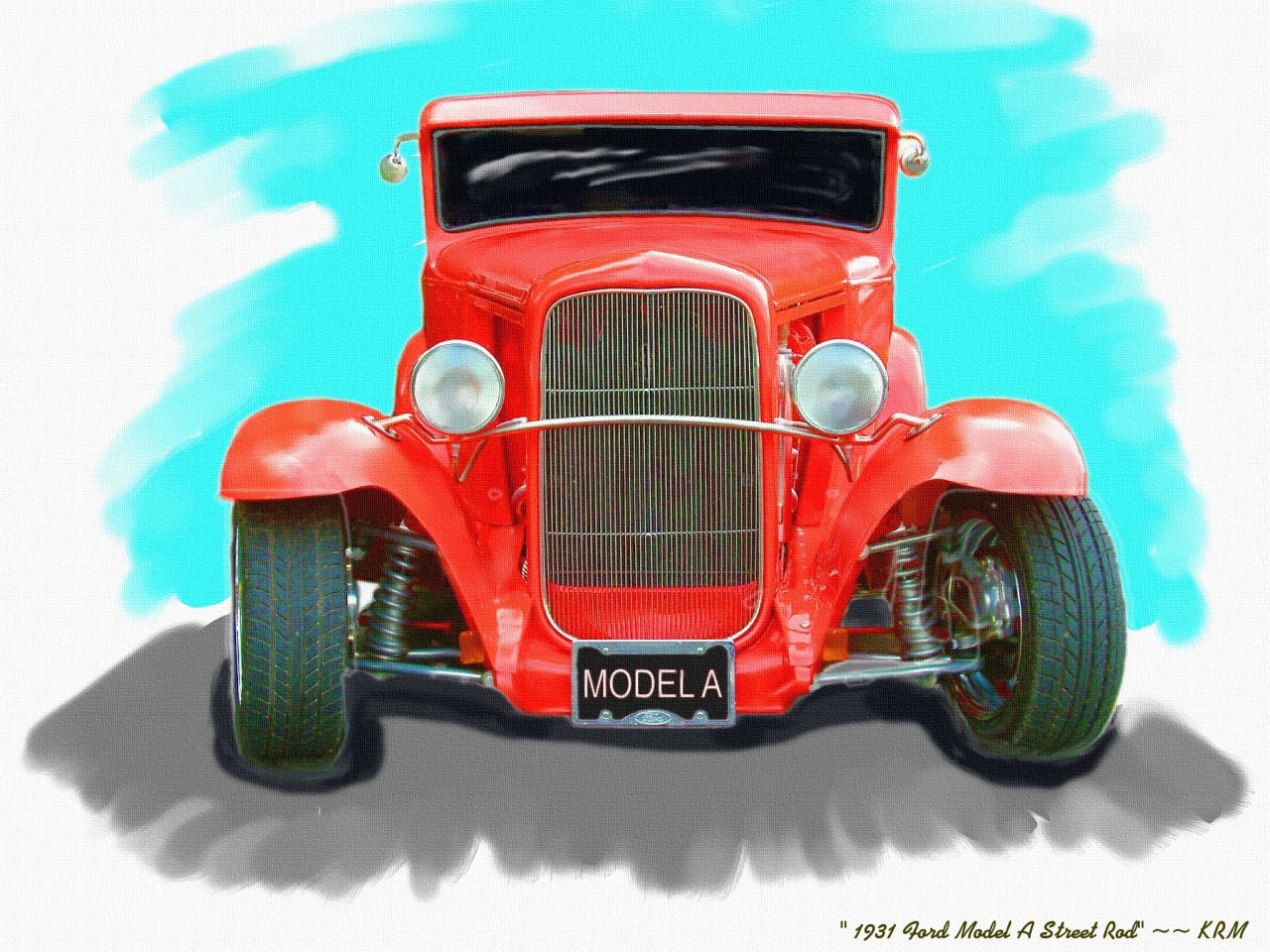 Click image for larger version  Name:Hot Rod Art wallpaper_44 {1931 Ford Street Rod}=KRM.jpg Views:220 Size:291.2 KB ID:21523