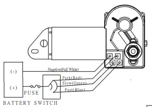 Boat Wiper Motor Wiring Diagram