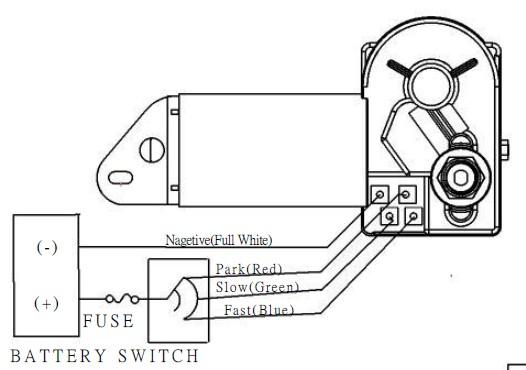 Boat Windshield Wiper Motor Wiring Diagram - impremedia.net
