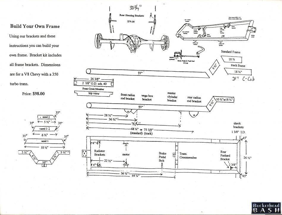 chassis plans - Hot Rod Forum : Hotrodders Bulletin Board