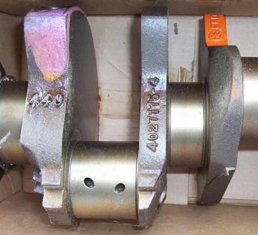 Click image for larger version  Name:mopar crank casting marks.jpg Views:134 Size:39.1 KB ID:7895