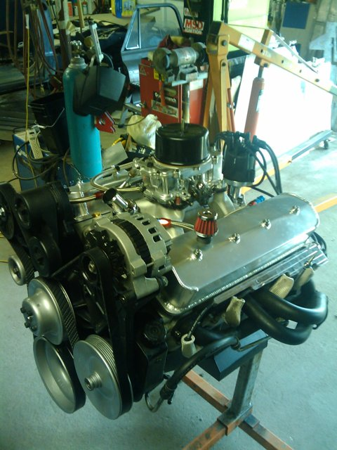 Click image for larger version  Name:motor finished on stand 2.jpg Views:55 Size:74.4 KB ID:39742