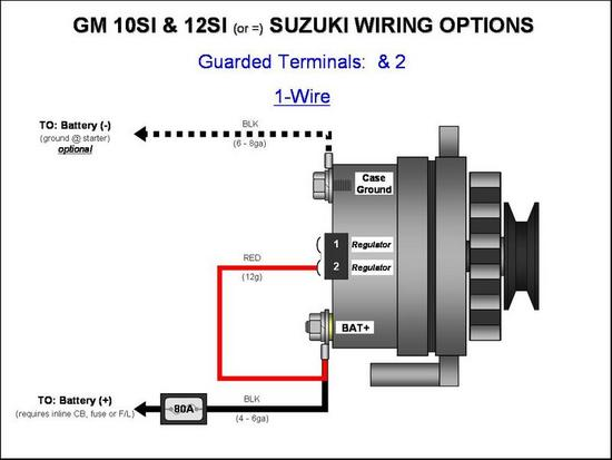 4 prong gm alternator questions - hot rod forum : hotrodders, Wiring diagram