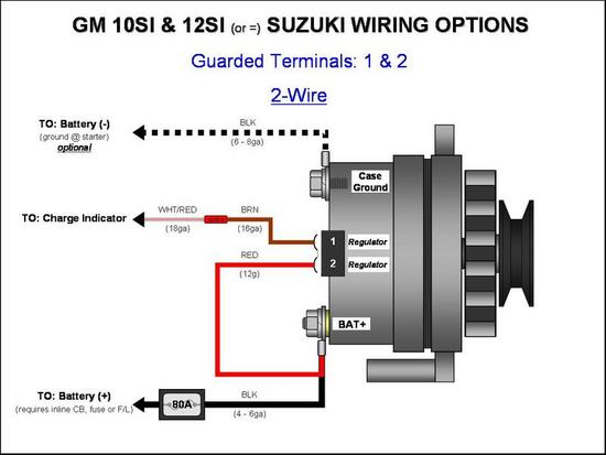 wiring diagram for a delco alternator the wiring diagram 4 prong gm alternator questions hot rod forum hotrodders wiring diagram