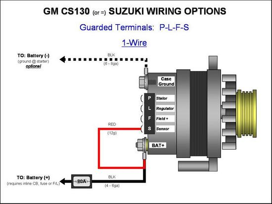 [SCHEMATICS_4ER]  4 prong GM alternator questions | Hot Rod Forum | Gm 4 Wire Alternator Wiring Diagram |  | Hotrodders.com