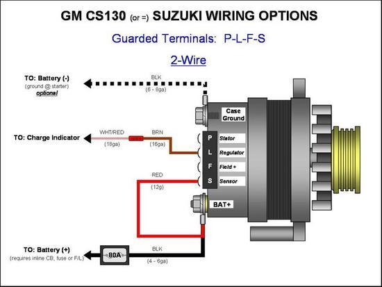 [DIAGRAM_34OR]  CS 130 conversion exciter wire | Hot Rod Forum | Delco Cs Alternator Wiring Diagram |  | Hotrodders.com