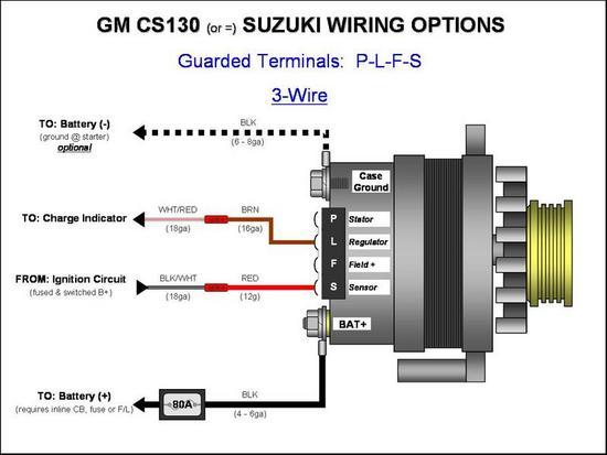 350 Chevy Alternator Wiring Diagram from www.hotrodders.com