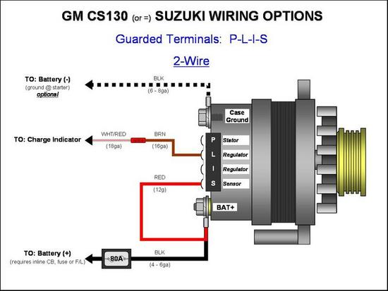 [DIAGRAM_3ER]  CS 130 conversion exciter wire | Hot Rod Forum | Chevy 1 Wire Alternator Diagram |  | Hotrodders.com