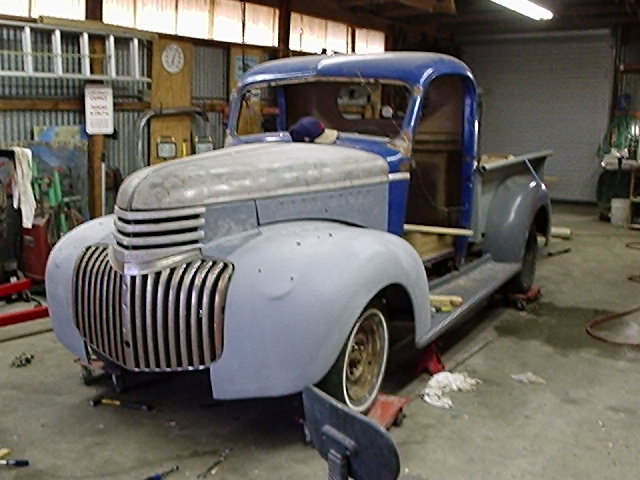 will a 40 chevy truck fit on a S-10 frame - Hot Rod Forum