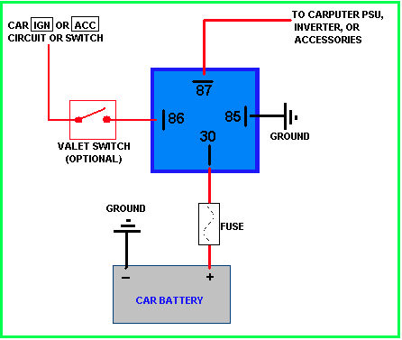 Relay wiring help - Hot Rod Forum : Hotrodders Bulletin Board on switches and cables, switches and indicators, switches and buttons, switches and circuits, switches and plugs, switches and sockets,