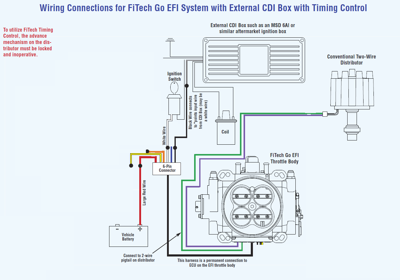 2wire Distributor Wiring Diagram Msd 6al Connected To ... on