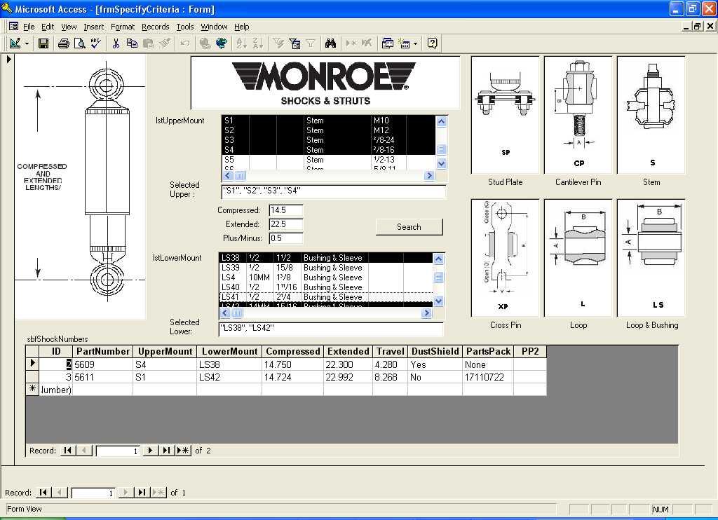 Shock absorbers by length? - Hot Rod Forum : Hotrodders Bulletin Board