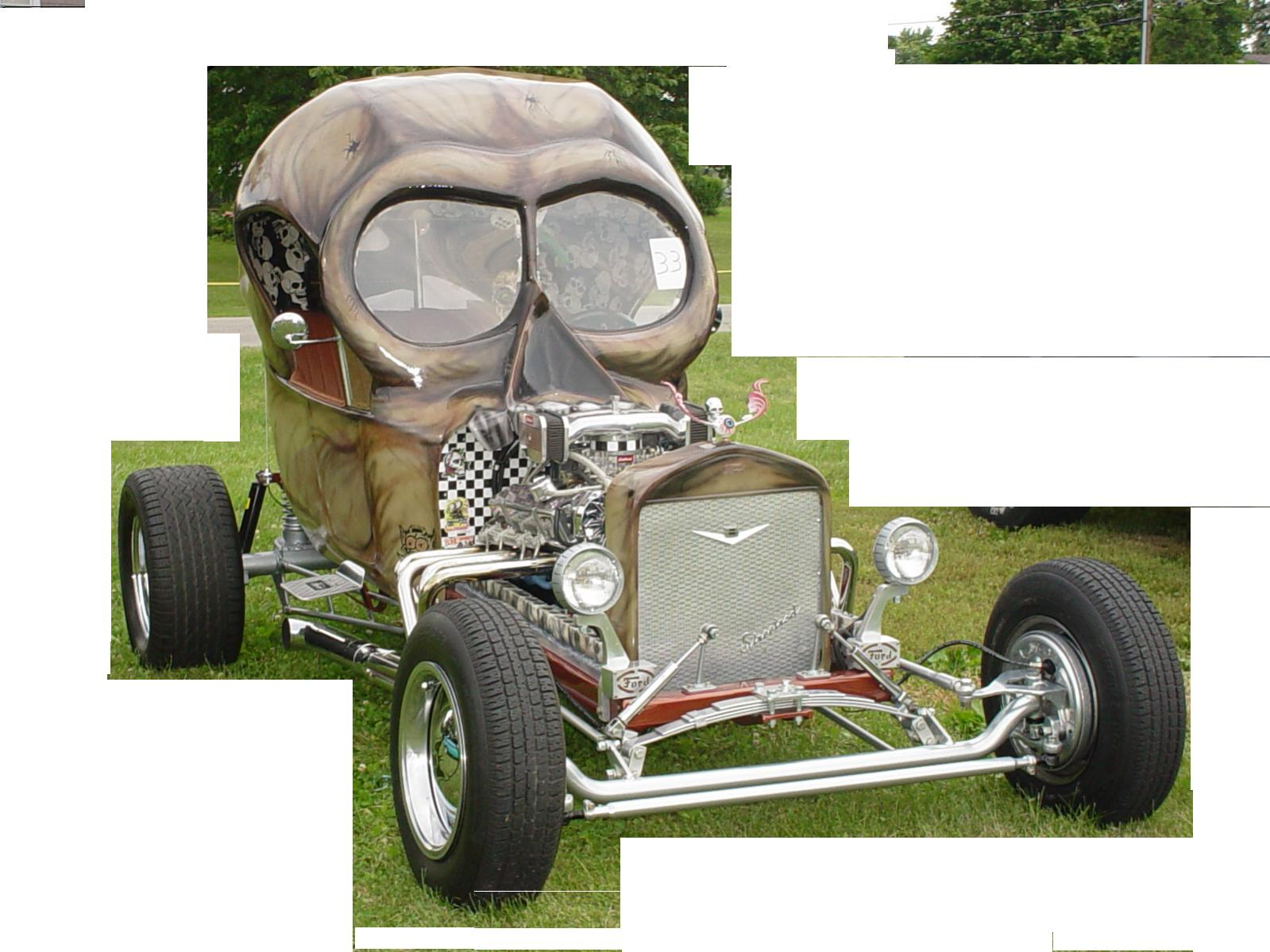 Click image for larger version  Name:skull roof on model A.jpg Views:138 Size:191.4 KB ID:42549