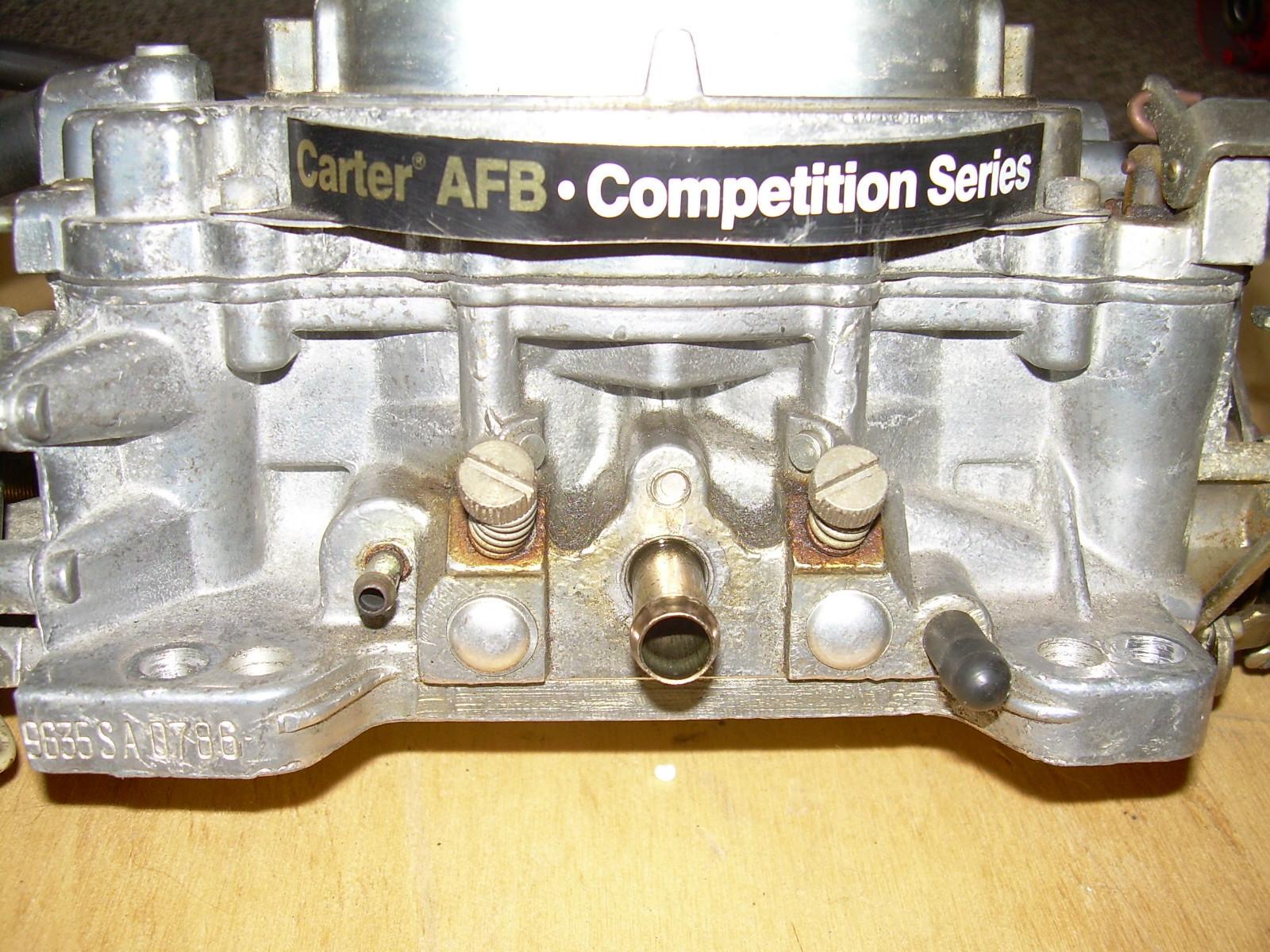 Carburetor Serial Numbers - littleatlas