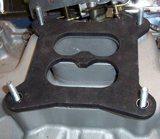 Click image for larger version  Name:Torino intake open with gasket and spacer.jpg Views:324 Size:47.3 KB ID:10849