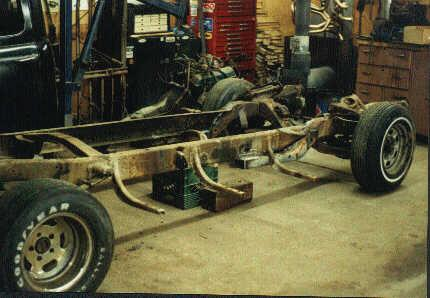Doing a F1 on S10 Chassis Swap - Hot Rod Forum : Hotrodders