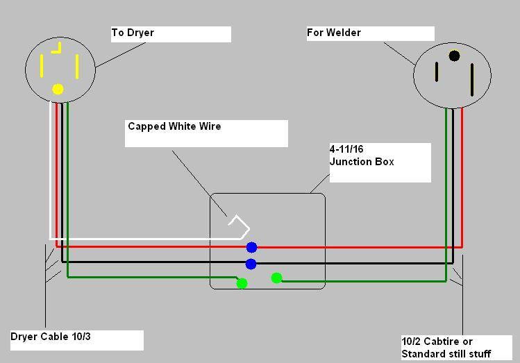 welder outlet wiring diagram