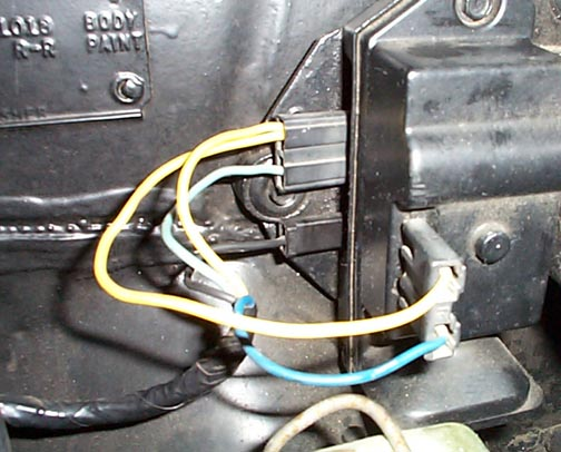 1966 pontiac gto windshield wiper wiring
