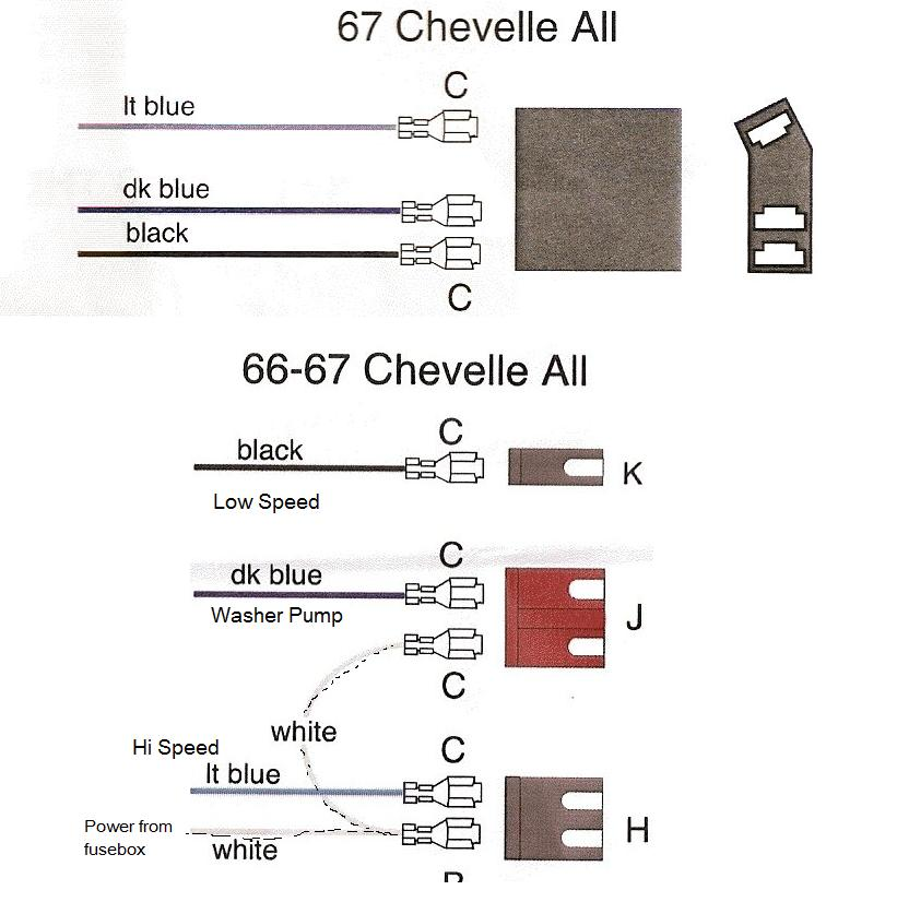 [DHAV_9290]  Windshield wiper wiring 1966 Chevelle | Hot Rod Forum | 1966 El Camino Wiper Wiring Diagram |  | Hotrodders.com