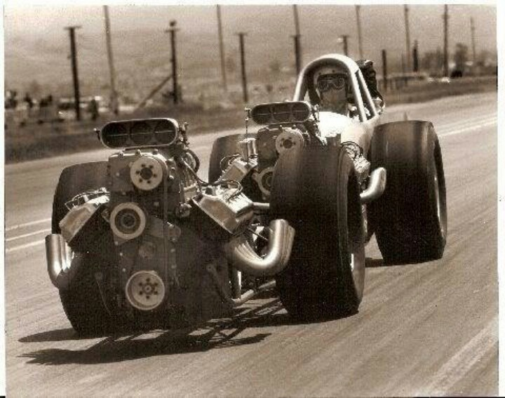 Image result for twin engine dragster