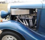 35 Chevy with 430 hp 292 Chevy with lump port heads, Weber #38 carbs.jpg