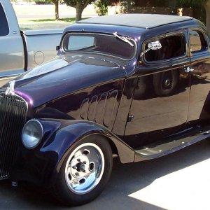 33 STEEL WILLYS COUPE