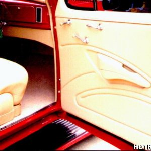 Interiors by Shannon 1938 Chevy Coupe