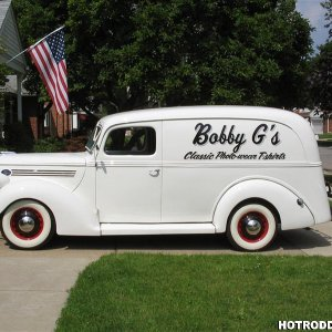 1939 Ford Panel Truck