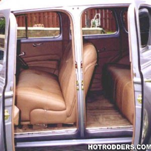Interiors By Shannon 1938 Chevy