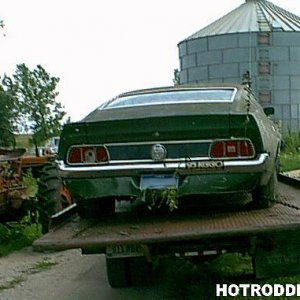 1972 Mustang Fastback