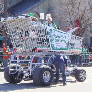 Giant Street-legal Shopper Cart