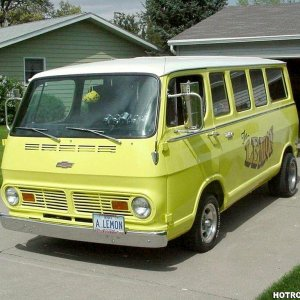 '67 Chevy Van  -The Lemon