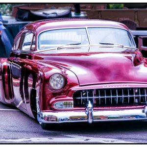 1952 Chevy customized led sled